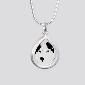 Husky Bi-Eye Husky Dog Necklaces