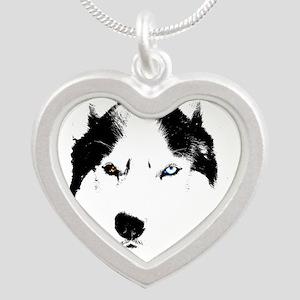 Husky Bi-Eye Husky Dog Necklaces