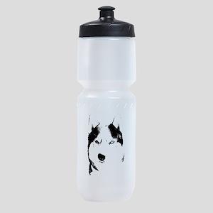 Husky Bi-Eye Husky Dog Sports Bottle