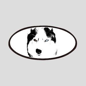 Husky Bi-Eye Husky Dog Patch