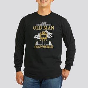 Snowmobile T Shirt Long Sleeve T-Shirt