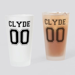Bonnie and Clyde shirts Drinking Glass