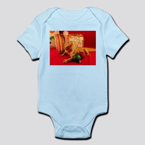 Christmas Lizard Body Suit