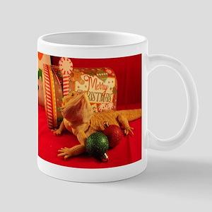 Christmas Lizard Mugs