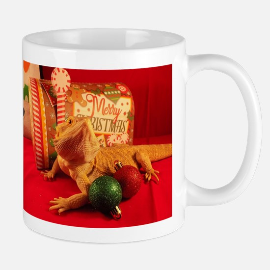 Christmas Lizard Mugs