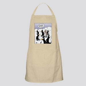 Penguin Laundry Day BBQ Apron