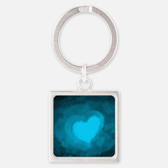 Cute Soother Square Keychain