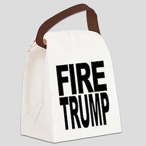 Fire Trump Canvas Lunch Bag