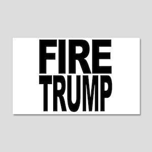 Fire Trump 20x12 Wall Decal