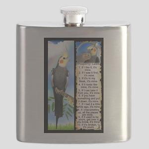 The Cockatiel Flask
