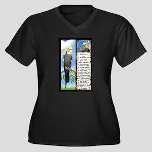 The Cockatiel Plus Size T-Shirt