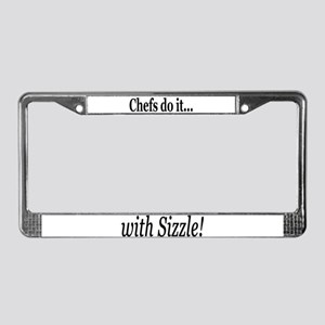 Chefs Do It Shirts License Plate Frame