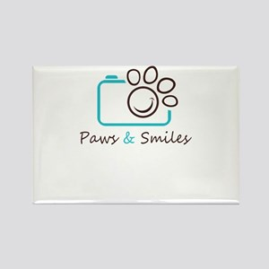 paws and smiles Magnets