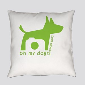 oh my dog! photography Everyday Pillow
