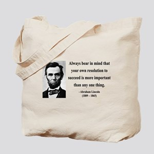 Abraham Lincoln 15 Tote Bag