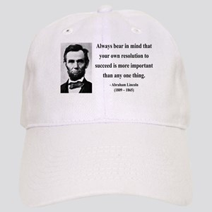 Abraham Lincoln 15 Cap