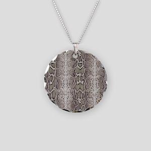 cobra snake skin pattern Necklace