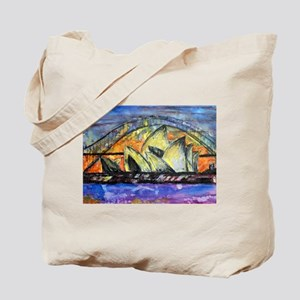Hot Sydney Night Tote Bag