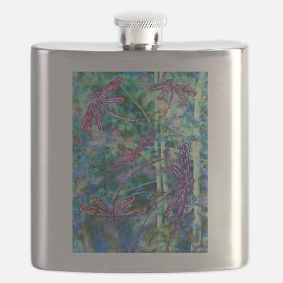 Dragonflies Forest Light Flask