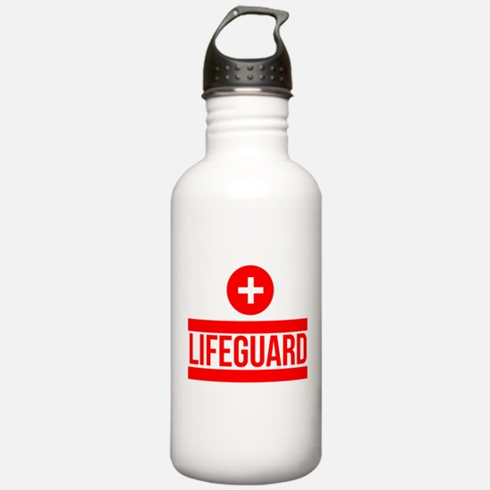 Cute Lifeguard Water Bottle