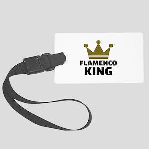 Flamenco king Large Luggage Tag