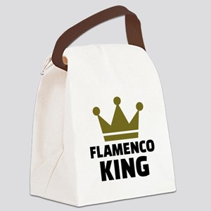 Flamenco king Canvas Lunch Bag
