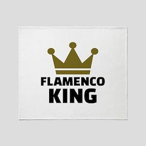 Flamenco king Throw Blanket