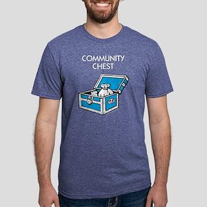 Monopoly - Community Chest Mens Tri-blend T-Shirt