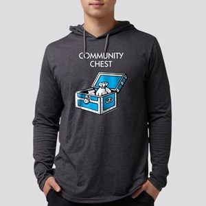 Monopoly - Community Chest Mens Hooded Shirt