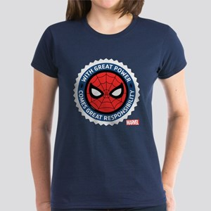 Spider-Man Seal Women's Dark T-Shirt