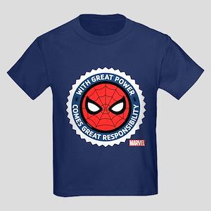 Spider-Man Seal Kids Dark T-Shirt