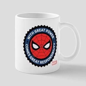 Spider-Man Seal Mug
