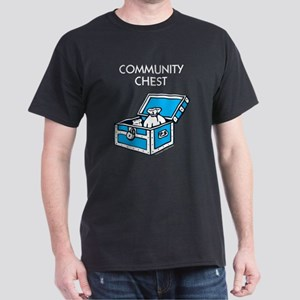 Monopoly - Community Chest Dark T-Shirt