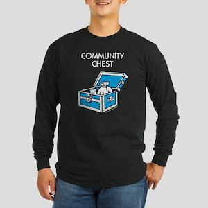 Monopoly - Community Ches Long Sleeve Dark T-Shirt