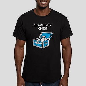 Monopoly - Community C Men's Fitted T-Shirt (dark)