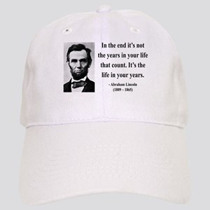 Abraham Lincoln 17 Cap