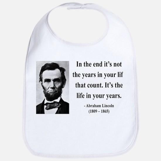 Abraham Lincoln 17 Bib