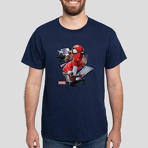 Spider-Man Trio Dark T-Shirt