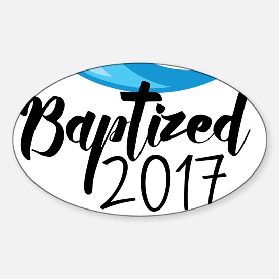 Baptized 2017 Decal