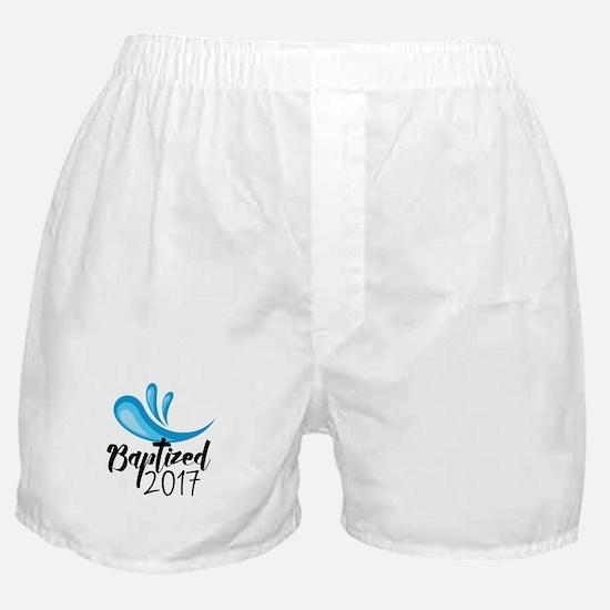Baptized 2017 Boxer Shorts