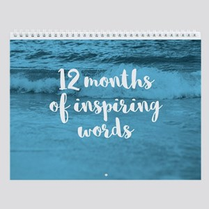 Inspiring Words Wall Calendar - Nature