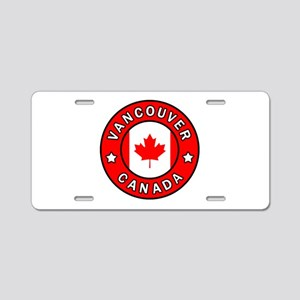 Vancouver Canada Aluminum License Plate