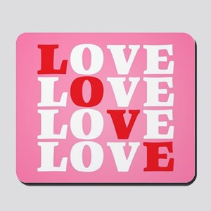 LOVE Mousepad