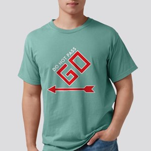 Monopoly - Do Not Pass G Mens Comfort Colors Shirt