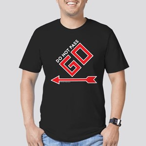 Monopoly - Do Not Pass Men's Fitted T-Shirt (dark)