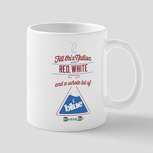 Nation Red White Blue Mug