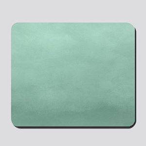 Mint Ombre Watercolor Mousepad