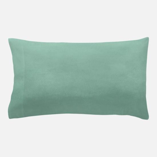 Mint Ombre Watercolor Pillow Case