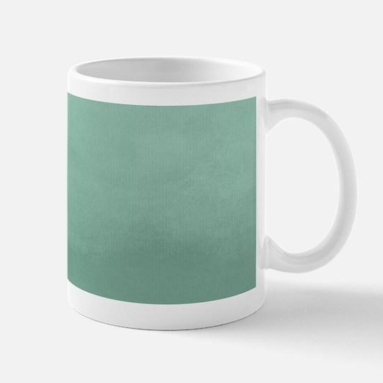 Mint Ombre Watercolor Mugs