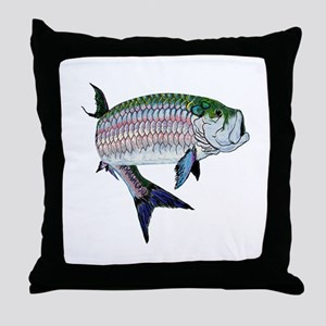 TARPON Throw Pillow
